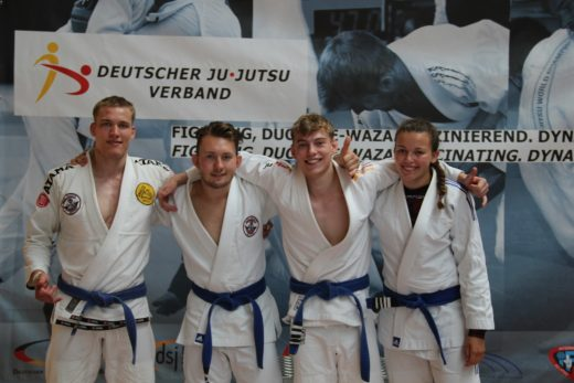 von links: Marius Oderwald, Tristan Eppler, Nick Gerhold, Sophie Rumpf